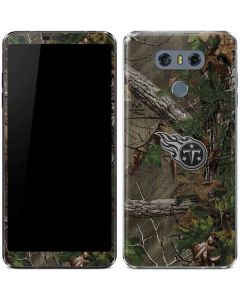 Tennessee Titans Realtree Xtra Green Camo LG G6 Skin