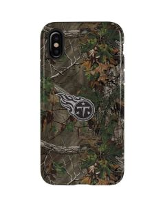Tennessee Titans Realtree Xtra Green Camo iPhone X Pro Case
