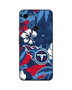 Tennessee Titans Tropical Print Google Pixel 3a Skin