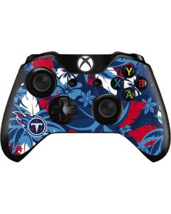 Tennessee Titans Tropical Print Xbox One Controller Skin