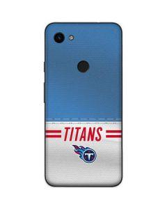 Tennessee Titans White Striped Google Pixel 3a Skin