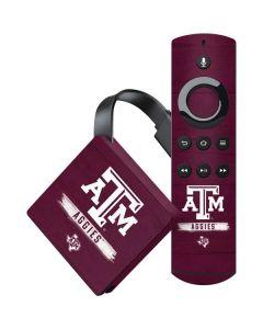 Texas A&M Aggies Amazon Fire TV Skin