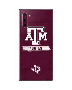 Texas A&M Aggies Galaxy Note 10 Skin