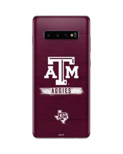 Texas A&M Aggies Galaxy S10 Plus Skin