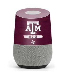 Texas A&M Aggies Google Home Skin