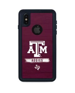 Texas A&M Aggies iPhone X Waterproof Case