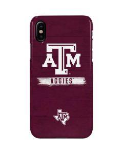 Texas A&M Aggies iPhone XS Max Lite Case