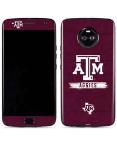 Texas A&M Aggies Moto X4 Skin