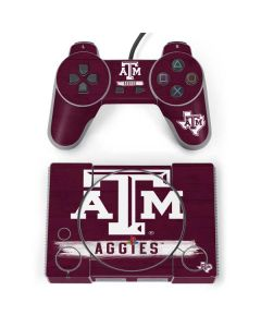 Texas A&M Aggies PlayStation Classic Bundle Skin