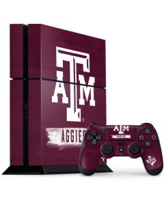 Texas A&M Aggies PS4 Console and Controller Bundle Skin