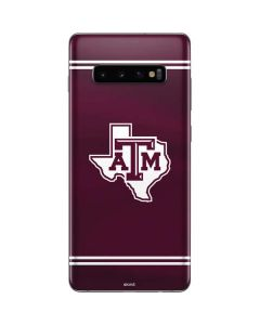 Texas A&M Alternative Galaxy S10 Plus Skin