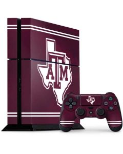 Texas A&M Alternative PS4 Console and Controller Bundle Skin