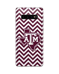 Texas A&M Chevron Galaxy S10 Plus Skin
