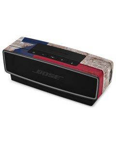 Texas Flag Dark Wood Bose SoundLink Mini Speaker II Skin