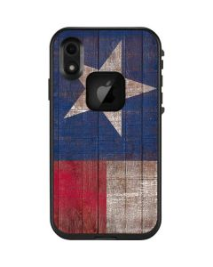 Texas Flag Dark Wood LifeProof Fre iPhone Skin