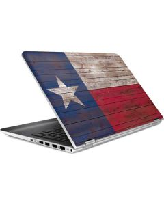 Texas Flag Dark Wood HP Pavilion Skin