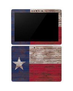 Texas Flag Dark Wood Surface Go Skin