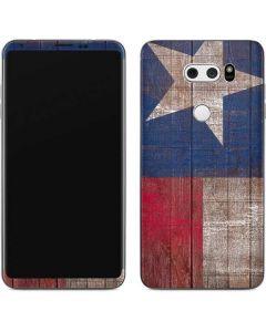 Texas Flag Dark Wood V30 Skin