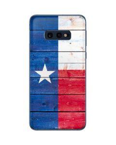 Texas Flag Light Wood Galaxy S10e Skin