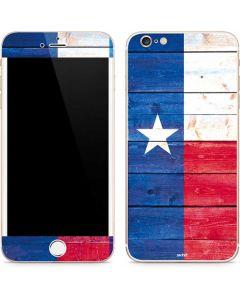 Texas Flag Light Wood iPhone 6/6s Plus Skin