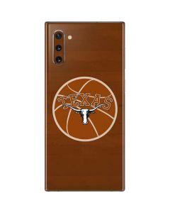 Texas Longhorns Basketball Galaxy Note 10 Skin