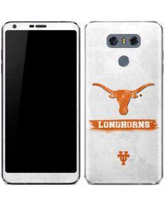 Texas Longhorns Distressed LG G6 Skin