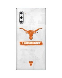 Texas Longhorns Distressed Galaxy Note 10 Skin