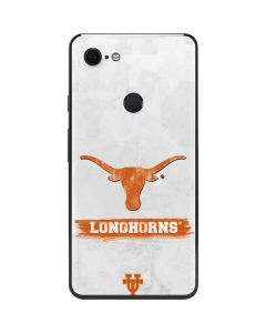 Texas Longhorns Distressed Google Pixel 3 XL Skin