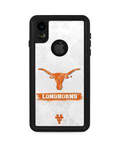 Texas Longhorns Distressed iPhone XR Waterproof Case