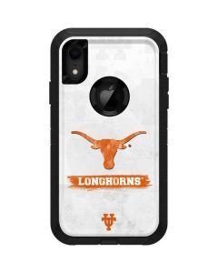 Texas Longhorns Distressed Otterbox Defender iPhone Skin
