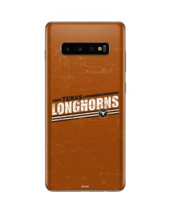 Texas Longhorns Galaxy S10 Plus Skin
