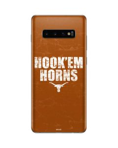 Texas Longhorns Hook Em Galaxy S10 Plus Skin