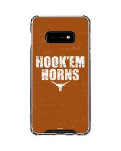 Texas Longhorns Hook Em Galaxy S10e Clear Case