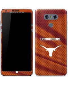Texas Longhorns Jersey LG G6 Skin