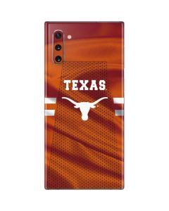 Texas Longhorns Jersey Galaxy Note 10 Skin