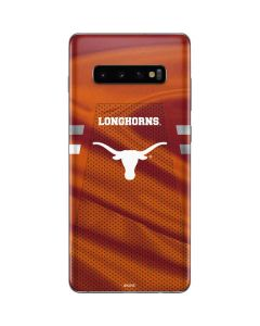 Texas Longhorns Jersey Galaxy S10 Plus Skin