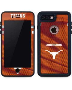 Texas Longhorns Jersey iPhone 8 Plus Waterproof Case