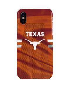 Texas Longhorns Jersey iPhone XS Max Lite Case