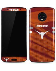Texas Longhorns Jersey Moto G6 Skin