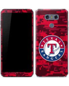 Texas Rangers Digi Camo LG G6 Skin