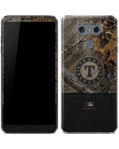 Texas Rangers Realtree Xtra Camo LG G6 Skin