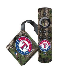 Texas Rangers Realtree Xtra Green Camo Amazon Fire TV Skin