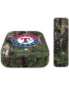 Texas Rangers Realtree Xtra Green Camo Apple TV Skin