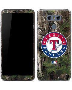 Texas Rangers Realtree Xtra Green Camo LG G6 Skin