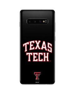 Texas Tech Galaxy S10 Plus Skin