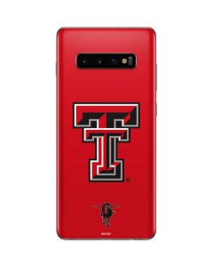 Texas Tech Logo Galaxy S10 Plus Skin