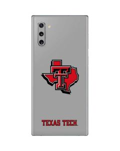 Texas Tech State Outline Galaxy Note 10 Skin