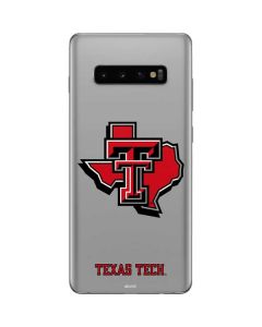 Texas Tech State Outline Galaxy S10 Plus Skin