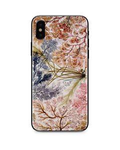Textile Design by William Kilburn iPhone XS Skin