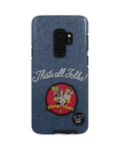 Thats All Folks Patch Galaxy S9 Plus Pro Case
